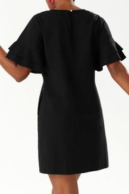Tommy Bahama Lanailette Flutter Sleeve Shift Dress