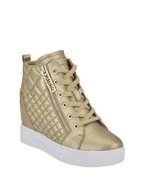 Fazed Quilted Wedge Sneakers