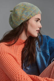 Anthropologie Claire Fuzzy Beret