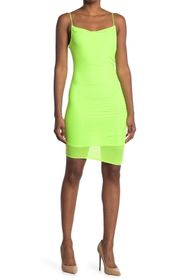 bebe Power Mesh Dress