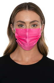 Medipop 5-Pack Adult Disposable Pleated Face Masks