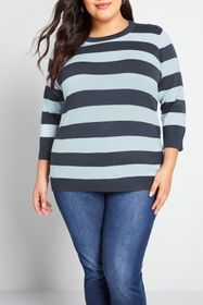 MODCLOTH Charter School Striped Sweater
