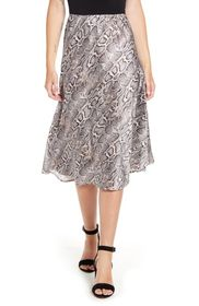 French Connection Silky Snake Skirt