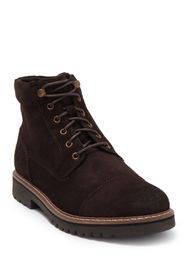 Rockport Marshall Leather Cap Toe Boot - Wide Widt