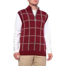 Bobby Jones Victoria Golf Sweater Vest - Merino Wo