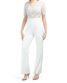 Elbow Length Jumpsuit