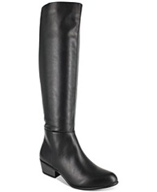 Treasure Faux Leather Dress Boots