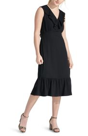 Sam Edelman Mini Pleat Neckline Dress