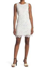 bebe Chemical Lace Sheath Dress