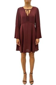 Sam Edelman Bell Sleeve A-Line Dress
