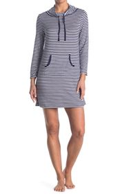 Nautica Striped Ribbed Knit Tunic