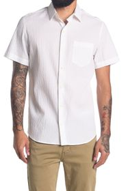 DKNY Short Sleeve Button Down Shirt