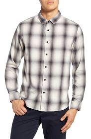 BLDWN Arias Regular Fit Plaid Button-Up Flannel Sh