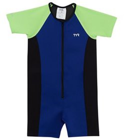 TYR Boys' UPF 50+ Short Sleeve Thermal Suit (Toddl