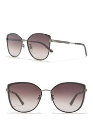 GUCCI 57mm Cat Eye Sunglasses