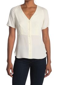 Theory Be Classic Vested Blouse