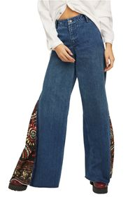 Free People Sahara Extreme Wide Leg Pants