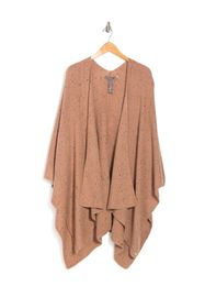 Vince Camuto Flecked Knit Poncho Cardigan