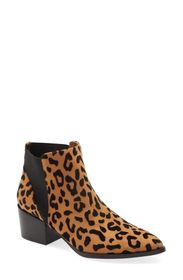 Chinese Laundry Finn Leopard Print Chelsea Bootie