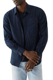 True Religion Utility Solid Flannel Shirt