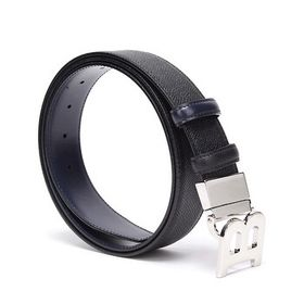 Bally Bally Black Iconic B Buckle Belt