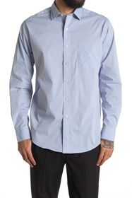 Cole Haan Spread Collar Long Sleeve Sport Shirt