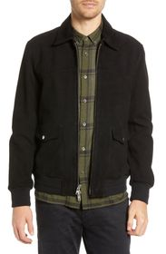 BLDWN Regular Fit Suede Western Jacket