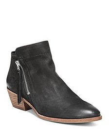 Sam Edelman - Women's Packer Leather Low Heel Boot