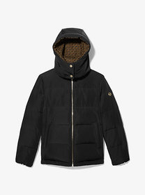 Michael Kors Logo-Lined Quilted Puffer Jacket