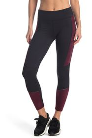Splendid Stretch Suede & Jersey Leggings