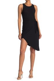 BCBGeneration Front Tie Sleeveless Dress