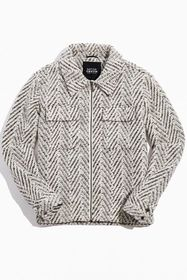 Native Youth Silas Brushed Herringbone Jacket