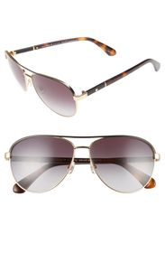 kate spade new york emilys 59mm navigator sunglass