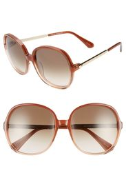 kate spade new york adriyanna 60mm round sunglasse