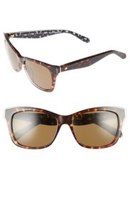 kate spade new york jena 53mm modified cat eye sun
