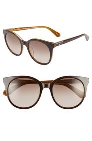 kate spade new york akayla 52mm cat eye sunglasses