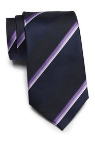 Kenneth Cole Reaction Multi Stripe Silk Blend Tie