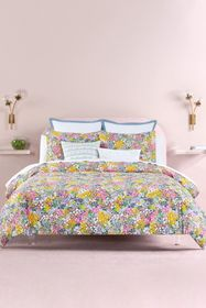 kate spade new york floral dots duvet cover 3-piec