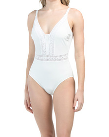 Roulette Tummy Control One-piece Swimsuit