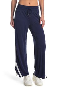 Splendid Wide Leg Split Hem Joggers