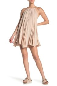 Free People Catching Rays Halter Dress
