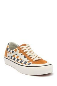 VANS Style 36 Check Lace-Up Cut Sneaker