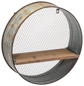 Circular Barrel Shelf