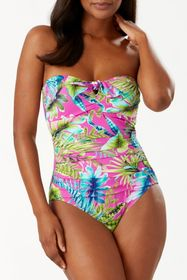 Tommy Bahama Sun Kissed Bandeau One-Piece Swimsuit