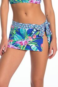 Tommy Bahama Orchid Groves Skirted Hipster Bikini