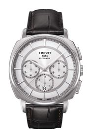 Tissot Men's T-Lord Automatic Embossed Leather Str