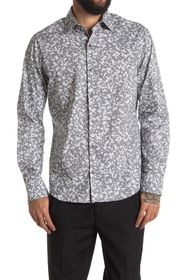DKNY Long Sleeve Printed Shirt