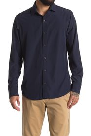 DKNY Long Sleeve Tech Woven Shirt