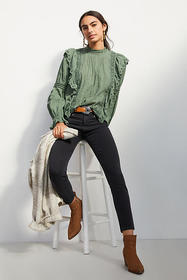 Anthropologie Paige Hoxton High-Rise Skinny Ankle