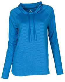 Ascend Striped Long-Sleeve Performance Hoodie for